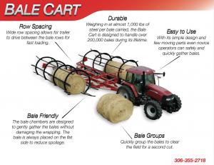 Haukaas Bale Cart